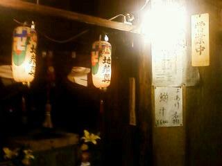鶴橋市場内の地蔵尊
