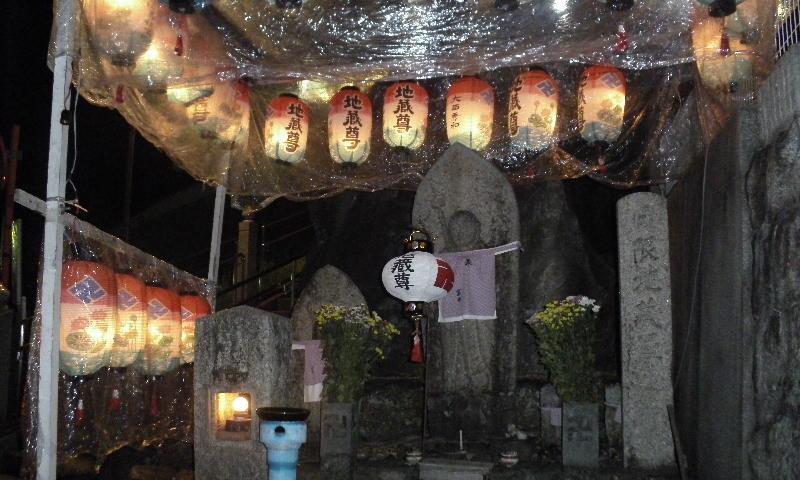 法融寺の地蔵盆