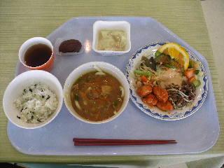 12:50 昼食