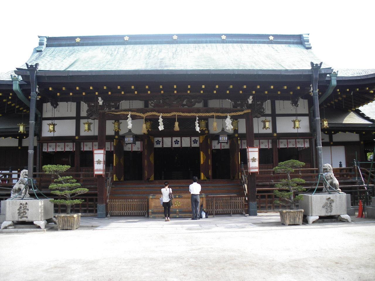 大阪天満宮にて 2012.6.15<br />  朝