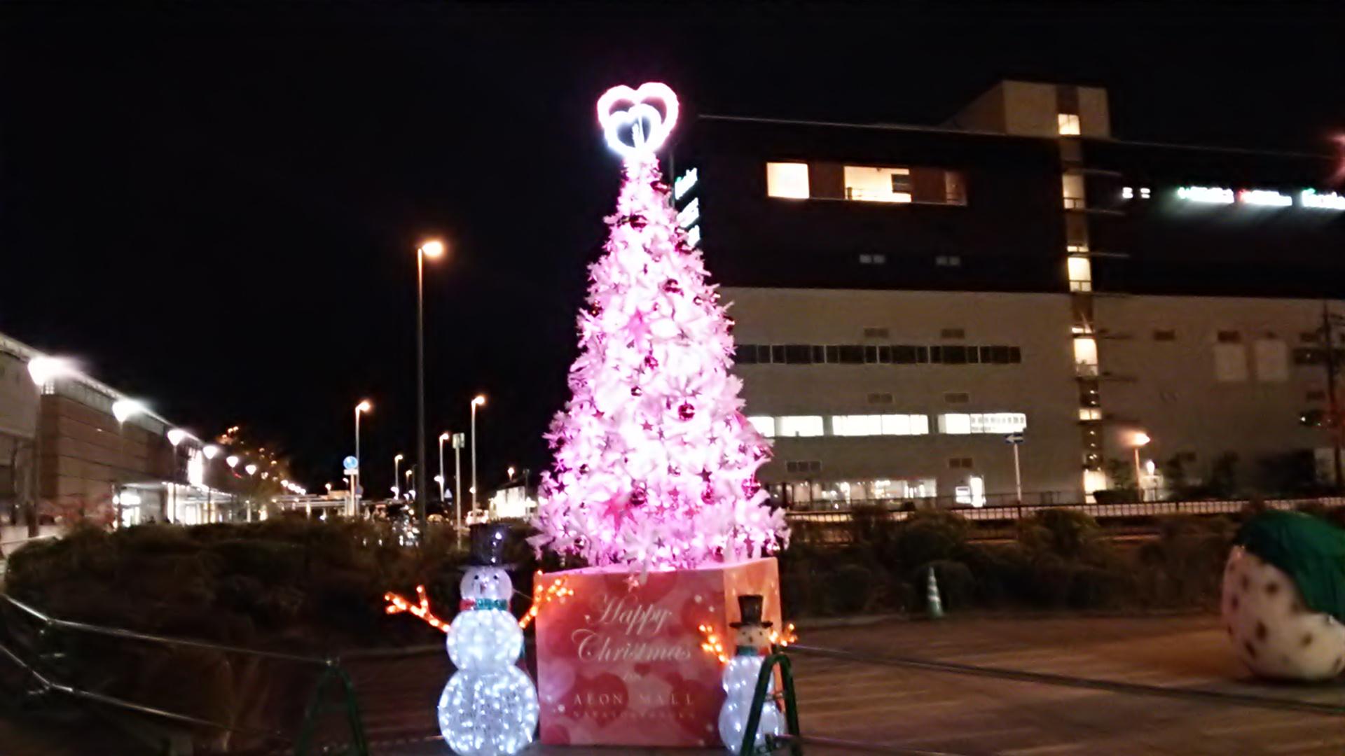 町もまた、もうクリスマス気分