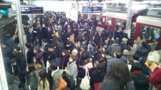 近鉄鶴橋駅 2014.12.22  20:17